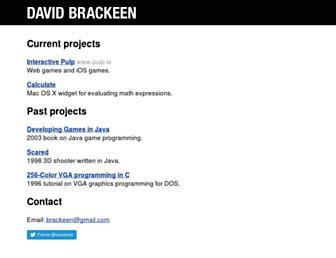 brackeen.com screenshot