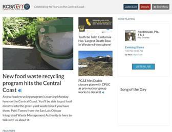 kcbx.org screenshot
