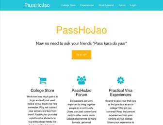 passhojao.com screenshot