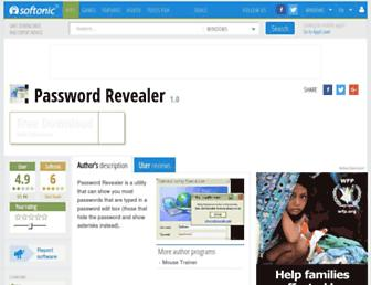 password-revealer.en.softonic.com screenshot