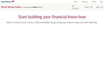 bettermoneyhabits.bankofamerica.com screenshot