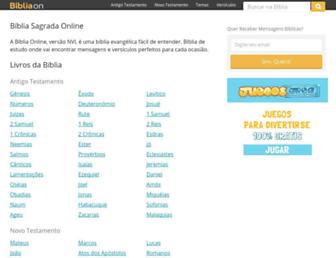bibliaon.com screenshot