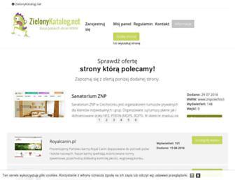 Thumbshot of Zielonykatalog.net