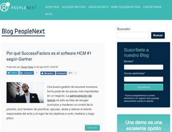 blog.peoplenext.com.mx screenshot