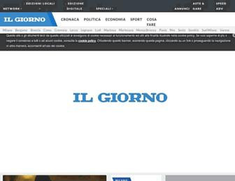 Thumbshot of Ilgiorno.it