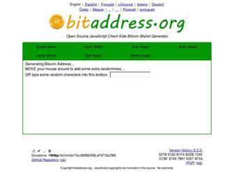 bitaddress.org screenshot