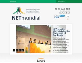 Thumbshot of Netmundial.br