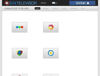 sintelevisor.com screenshot