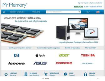 Thumbshot of Mrmemory.co.uk