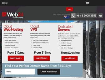 web24.com.au screenshot