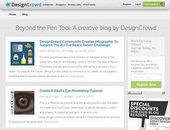 blog.designcrowd.com screenshot
