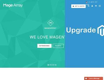 magearray.com screenshot