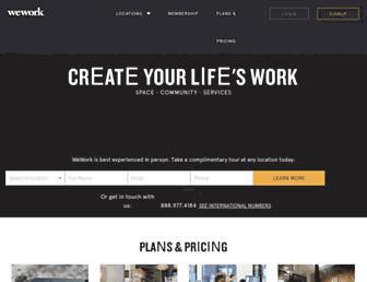 Thumbshot of Wework.com