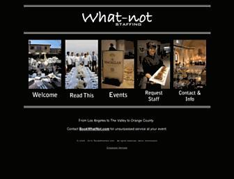 bookwhatnot.com screenshot