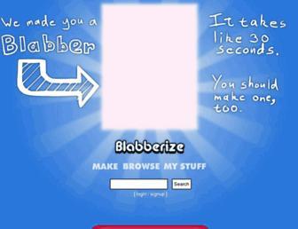 Thumbshot of Blabberize.com