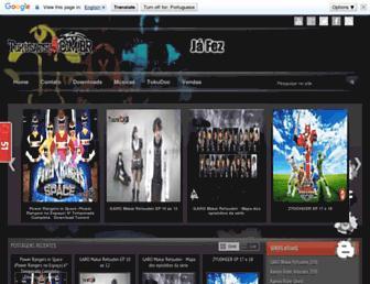 tokusatsus.com.br screenshot