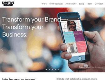 emotivebrand.com screenshot