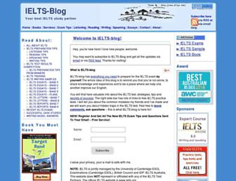 Thumbshot of Ielts-blog.com