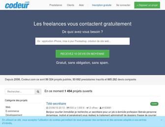 codeur.com screenshot