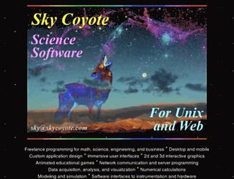 skycoyote.com screenshot