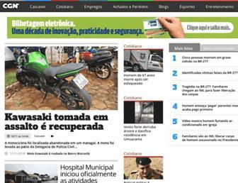 cgn.inf.br screenshot