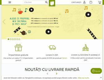 carturesti.ro screenshot