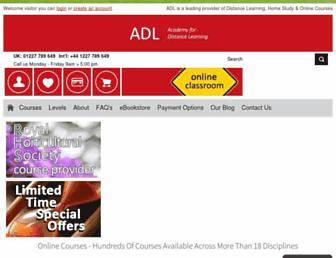 adlonlinecourses.com screenshot