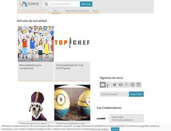 artes.uncomo.com screenshot