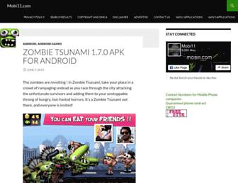 Thumbshot of Mobi11.com