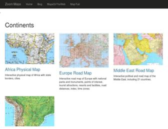 Thumbshot of Zoom-maps.com