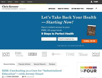 Thumbshot of Chriskresser.com