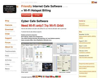 truecafe.net screenshot
