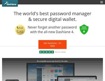 Thumbshot of Dashlane.com