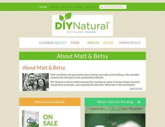 Thumbshot of Diynatural.com