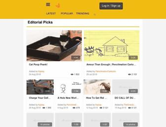 new.metacafe.com screenshot