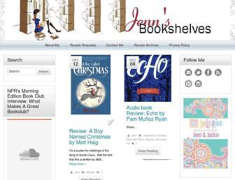 jennsbookshelves.com screenshot