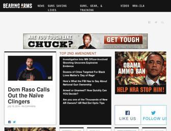 Thumbshot of Bearingarms.com