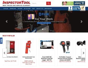 inspectortools.com screenshot