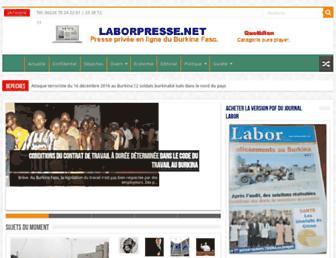 laborpresse.net screenshot