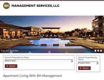 bhmanagement.com screenshot