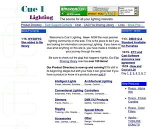 cue1.net screenshot