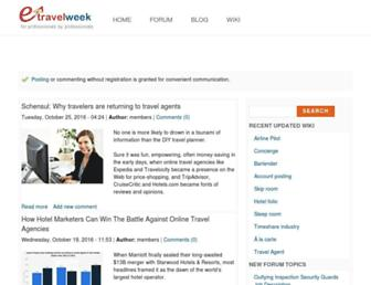 etravelweek.com screenshot