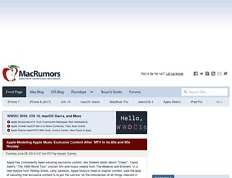 Thumbshot of Macrumors.com