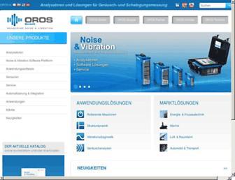 oros-deutschland.com screenshot
