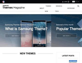 samsungthemesmagazine.com screenshot