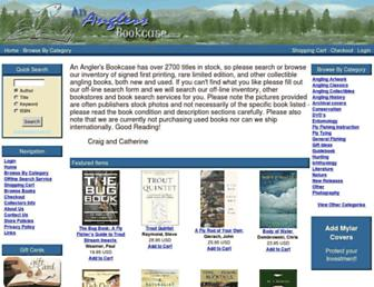 ananglersbookcase.com screenshot
