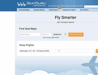 Thumbshot of Seatguru.com