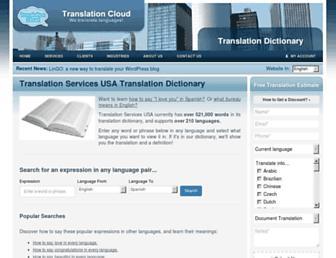 translate.translation-services-usa.com screenshot