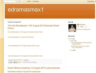 edramasmax1.blogspot.com screenshot