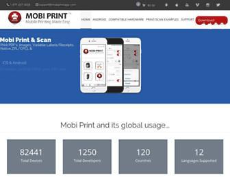 mobiprintapp.com screenshot